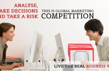 IIM B's One Year MBA EPGP executive 1 yr Team in Finals of Global Marketing contest ESIC