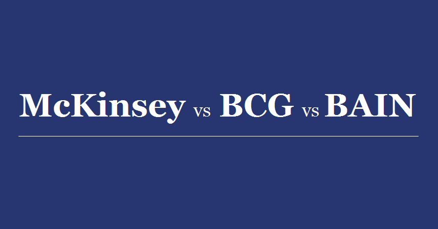 McKinsey Vs BCG Vs Bain: Who Pays MBAs The Highest Salary