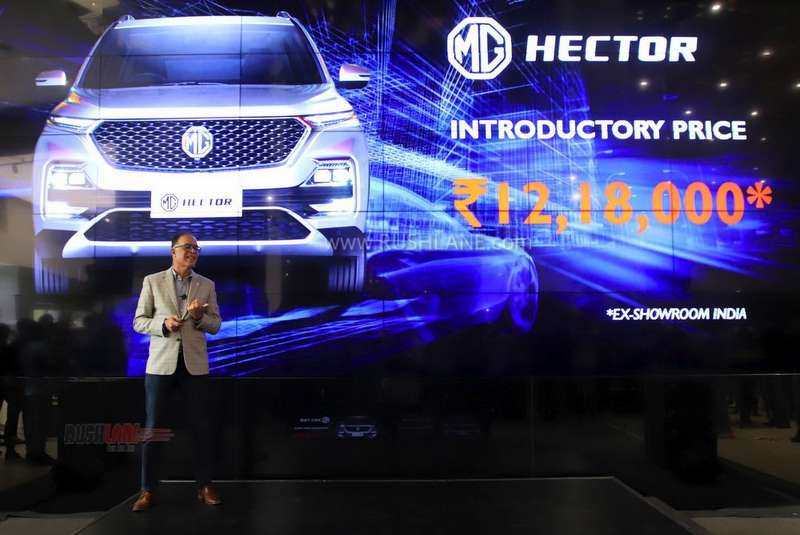 MG Hector SUV On-Road Price List - Pricing, Comparison, Booking Process