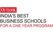 Outlook's Best B-Schools For a One Year MBA In India Ranking 2018-2019 MBA for Executives Ranking Best Colleges Best Programs
