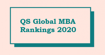 INSEAD, CEIBS Number 1 and 2 in QS Global MBA Rankings Asia 2020