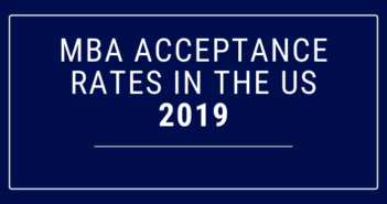 MBA Acceptance Rates Rise in the US