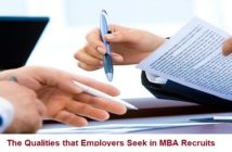 The Qualities that Employers Seek in MBA Recruits