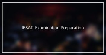 IBSAT Exam Preparation