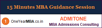 15 Minutes MBA Guidance Session